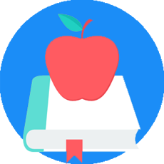 Apple Icon - Teacher